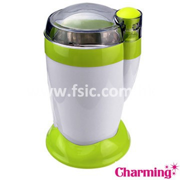 coffee grinder machine office home kitchen green modern bean manual electric mini OEM low MOQ manufacture