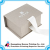 Custom printed paper packaging cardboard box with handle