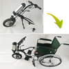 power electric wheelchair factory price 36v 350w electric wheelchair conversion kit for handicap
