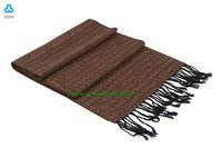 fashion 100% acrylic string wholesale mens scarf display CX-58
