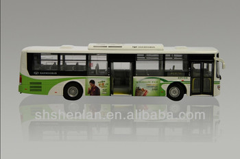 1:50 scale die casting bus model