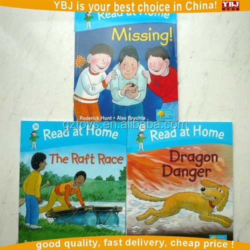 Creative book kids books with China printing factory