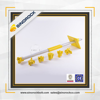 SINOROCK high strength mining self drilling grouting anchorage bolt