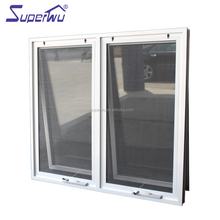 High quality aluminum alloy top hung windows awning window