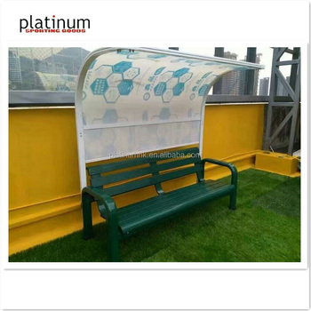 Tennis Outdoor Bench/Tennis Courtside Bench