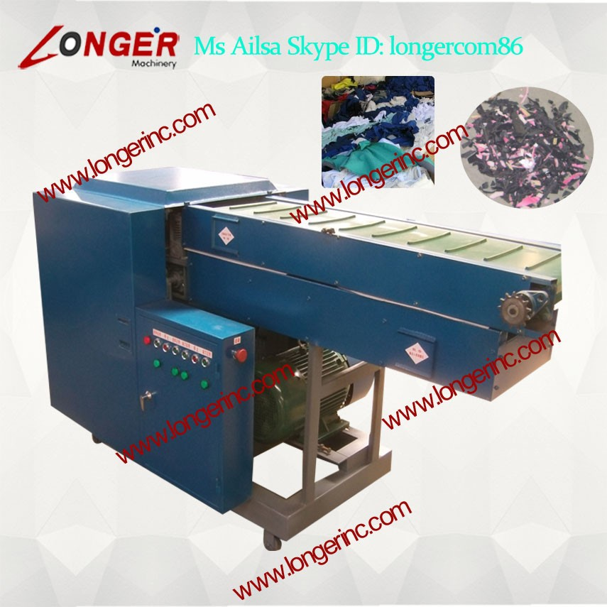 Mix Cotton poliester cutting machine