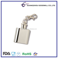 Promotional key chain mini hip flask