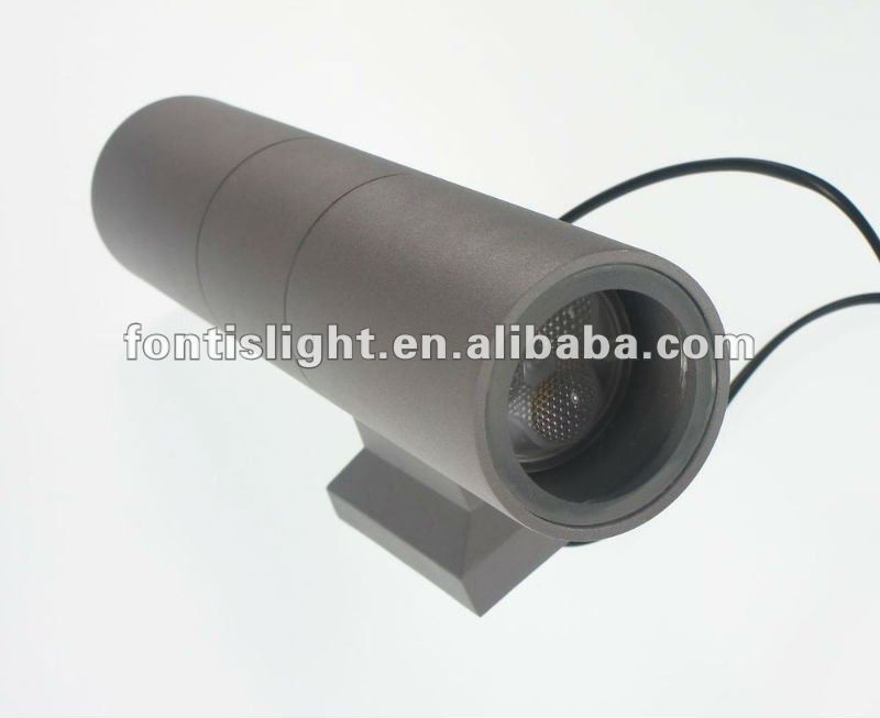 6W/12W led outdoor modern wall lamp