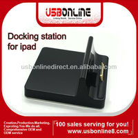 USB Base Docking Station Charger Power Station for Apple iPad 2 1 black