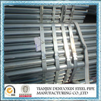 Galvanized or Black Carbon Iron Scaffolding Pipe