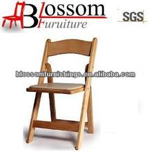 cheap chinese factory quality wooden foldable chair