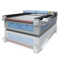 auto feeding home fabric laser cutting machine / machines for making leather shoes