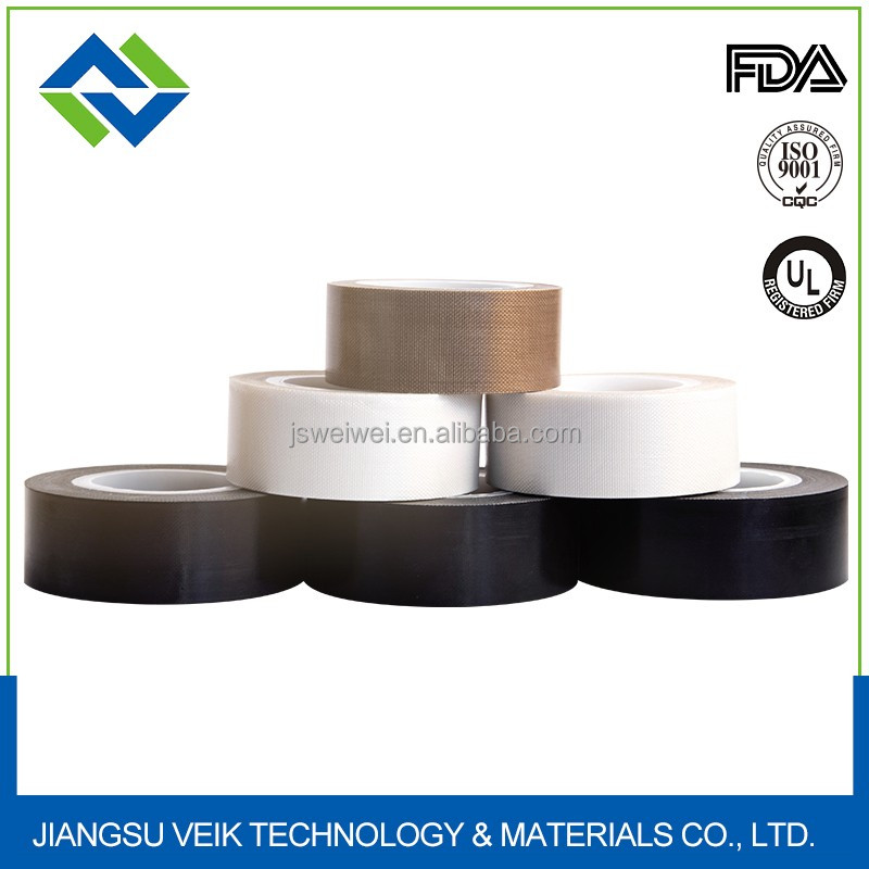 0.13mm thinckness brown single side teflon adhesive tape For Packing