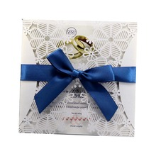 HK81 Factory wholesale laser cut birthday party supplies wedding invitations <strong>cards</strong>