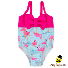 YZA-024 Yihong Pretty Swan Patterns Young Girls One Piece Swimsuits Summer Ruffle Shoulder-Straps skimpy bikini swimwear
