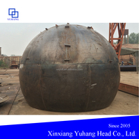 hemispherical head for industrial hot blast stove dish cap