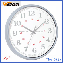 Quartz analog flip wall clock modern desing