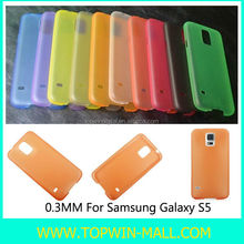 0.3mm Ultra Thin Series Mobile Phone Case For Samsung Galaxy S5 i9600