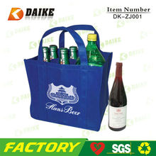 Fancy Reusable Pattern For Fabric Wine Bag DK-ZJ001