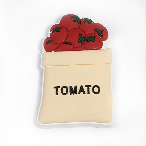PVC Tomatoes Multicolor Message Custom Shape Fridge Magnet For Decorate
