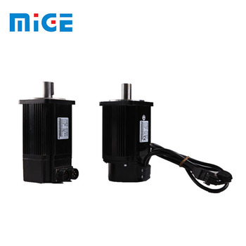 new type low power single phase high rpm servo motor with plug