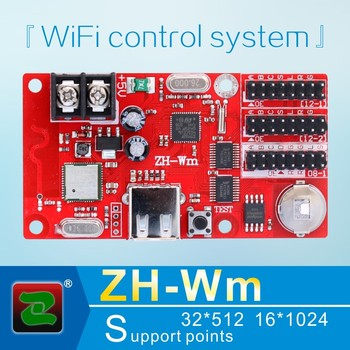 Zhonghang WIFI LED driver multi programs indoor outdoor ZH-Wm P10 screen display controller card