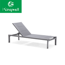 synthetic outdoor tesilin lounger used hotel pool furniture