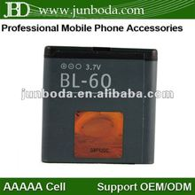 Cell phone batteries mobile batteries BL-6Q for Nokia 6700c