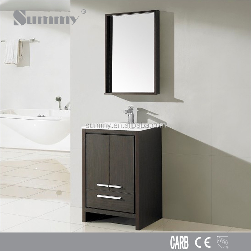 european modern thin portable bathroom towel cabinet vanity SV-15276