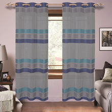 European Style Home Textile Polyester Sheer Curtain For Window