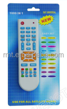 sat dvb universal remote control use for all satellite model 1000 in 1