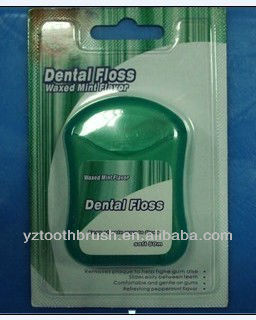 silk dental floss (20-50m, FDA approved)