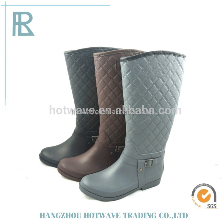 Waterproof Stylish 100% natural rubber black horse sex with women rain boots