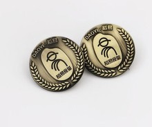 customized metal imitation badges custom made metal badges manufactrurer