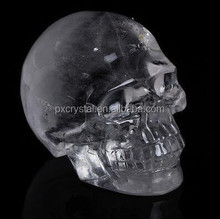 Natural Crystal Skull Craft for Crystal Showpieces