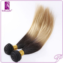 For Sale Can Dye 100 Pure Virgin Indian Remy Yaki Two Tone Human Hair Weaving