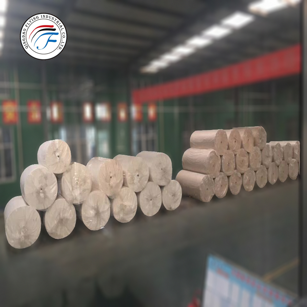 silver coated paper wood free paper light weight offset paper in roll