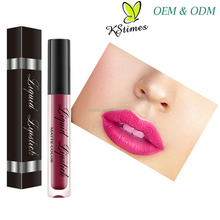 OEM Manufacturer Waterproof Kissproof Long Lasting Easy Pigmentation Korean Matte Liquid Lipstick Makeup <strong>Cosmetics</strong>