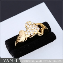 Wholesale New Design Fashion Finger Rings With Heart Shape