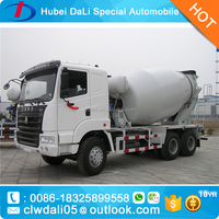 HOWO SINOTRUK 6*4 16 cubic meters diagram of concrete cement mixer truck competitive price for sale
