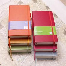 2014 clear cover leather notebook