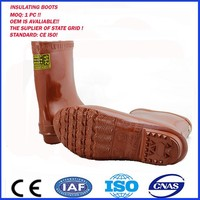 High Voltage rubber Insulating Boots
