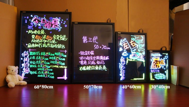 SPECIAL DISCOUNT PROMOTION SEASON LED writing board /led message board