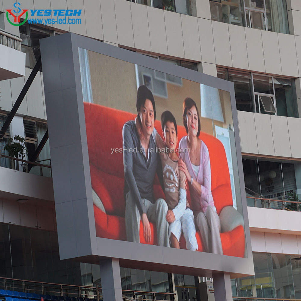 full color advertising outdoor led display ph10 smd