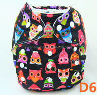 D6 YiWu ChangHe Manufacturer Washable Waterproof Resuable Baby Cloth Diaper Wholesale china