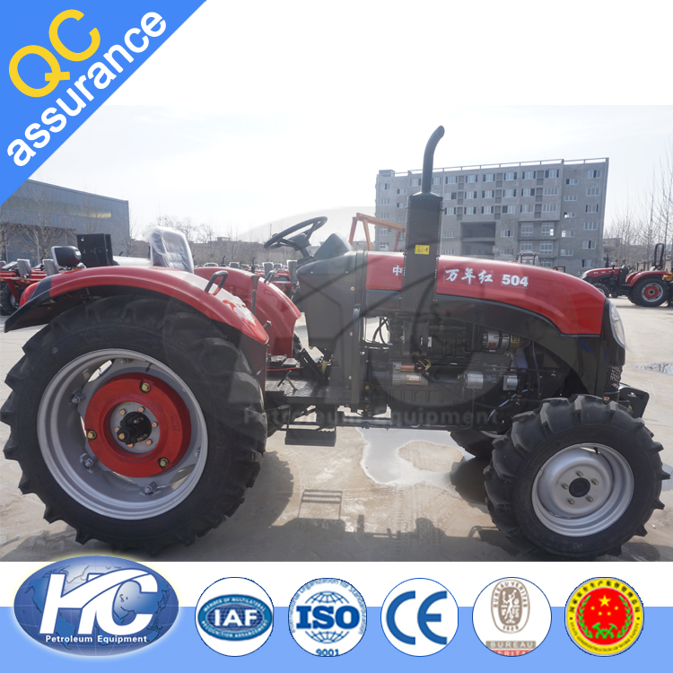 Chinese Best Selling Commodity 80HP Agriculture Tractor with Cab Export to India