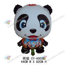2016 lovely animal shaped helium balloon panda balloon