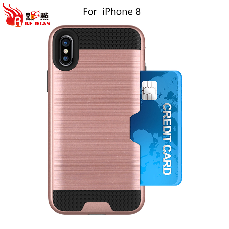 wholesale tpu pc cell phone shell for iphone8,phone case slide for iphone 8 shockproof phone case