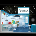 Detian Display offer 10x10 exhibition booth rental for trade show booth