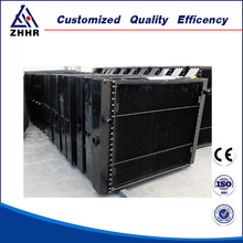 tank radiator for construction machinery